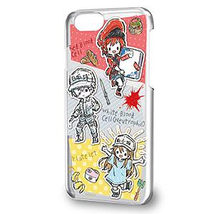 ハードケース(iPhone6/6s/7/8兼用)「はたらく細胞」02/コマ割りデザイン(グラフアート)