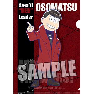 おそ松さん クリアファイル「おそ松」MATSUNO THE WORST ver.