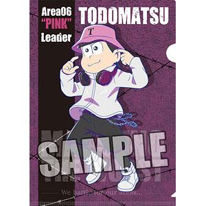 おそ松さん クリアファイル「トド松」MATSUNO THE WORST ver.