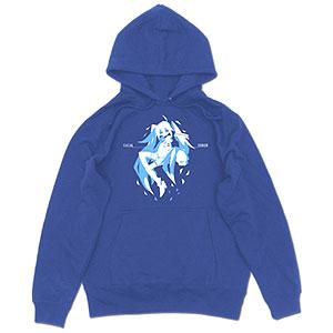 初音ミク プルオーバーパーカー sirozame Ver./ROYAL BLUE-S