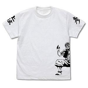 鬼滅の刃 無限列車編 猗窩座 Tシャツ /WHITE-XL