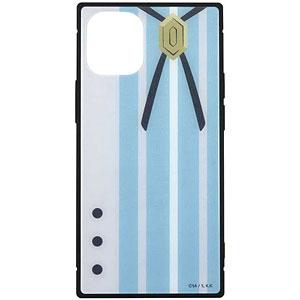 怪物事変 iPhone 12mini 対応 スクエアガラスケース 晶