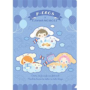 アイドルマスター SideM クリアファイル サンリオキャラクターズ F-LAGS×シナモロール
