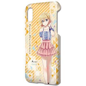 デザジャケット「彼女、お借りします」 iPhone X/XSケース&保護シート デザイン02(七海麻美)