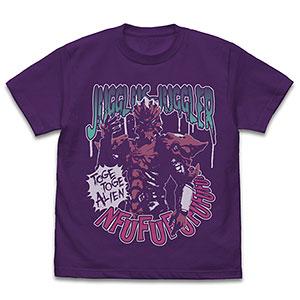 ウルトラマンZ ジャグラス ジャグラー Tシャツ/PURPLE-XL