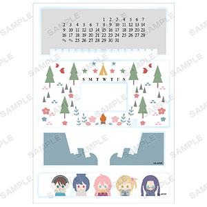 ゆるキャン△ NordiQ 卓上アクリル万年カレンダー