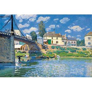 ジグソーパズル ヴィルヌーヴ・ラ・ガレンヌの橋 1053スーパースモールピース (31-028)