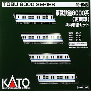 10-1648 東武鉄道8000系(更新車) 4両増結セット