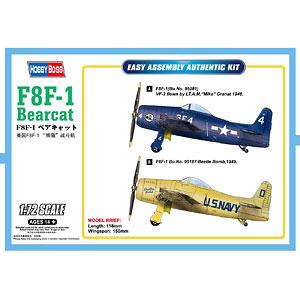 1/72 エアクラフトシリーズ F8F-1 ベアキャット プラモデル