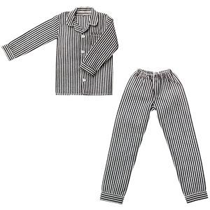 メンズパジャマ ブラックストライプ (ドール用)