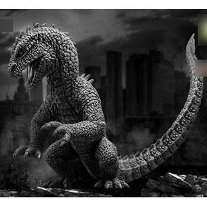 リドサウルス (モノトーン版) ソフビ スタチュー