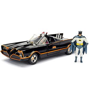 【8月以降発送・発売済商品】『DCコミックス』1/24 ダイキャストビークル バットモービル&バットマン&ロビン