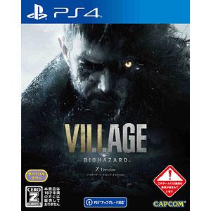 【特典】PS4 BIOHAZARD VILLAGE Z Version 通常版