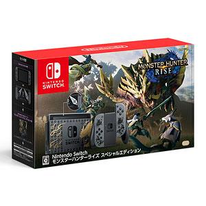 【3営業日以内出荷】【PayPal利用不可】Nintendo Switch モンスターハンターライズ スペシャルエディション