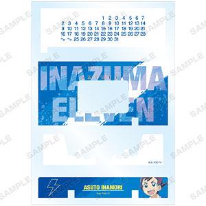 イナズマイレブン Ani-Art clear label 卓上アクリル万年カレンダー