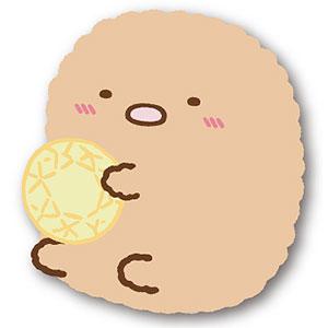 すみっコぐらし ~もぐらのおうち~ モフモフダイカットコインケース C:とんかつ