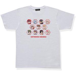 はたらく細胞 大集合!Tシャツ ホワイト L