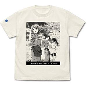 花咲くいろは 湯乃鷺リレイションズ CD Tシャツ(XL)