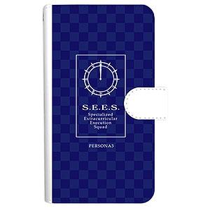 ペルソナ3 S.E.E.S. 手帳型スマホケース(対象機種/Mサイズ)