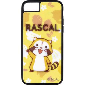 あらいぐまラスカル「ラスカル」Aver.(フルーツ) 半立体スマホケース 対応機種iPhone12/12pro