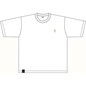 呪術廻戦 刺繍Tシャツ 五条悟
