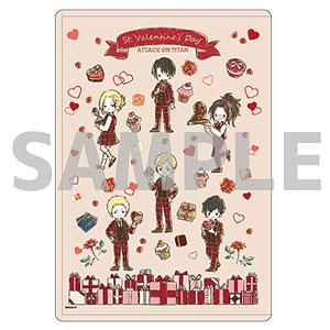 キャラクリアケース「進撃の巨人」03/バレンタインver. ちりばめデザイン(グラフアート)