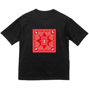 プロメア バンダナデザイン BIGシルエットTシャツ ユニセックス XL