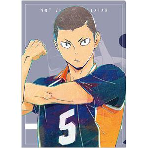 ハイキュー!! TO THE TOP 田中龍之介 Ani-Art 第4弾 クリアファイル