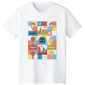 TIGER & BUNNY カリーナ&パオリン&ネイサン NordiQ Tシャツ メンズ M