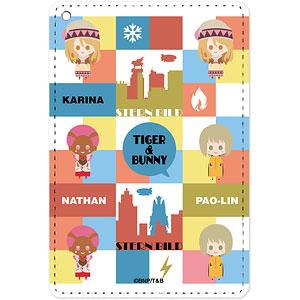 TIGER & BUNNY カリーナ&パオリン&ネイサン NordiQ 1ポケットパスケース