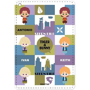 TIGER & BUNNY アントニオ&キース&イワン NordiQ 1ポケットパスケース
