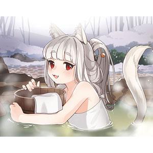 ねこぐらし。 F6キャンバス 猫神様・温泉