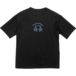 SHOW BY ROCK!! 描き下ろしイラスト デルミン DJver. BIGシルエットTシャツ ユニセックス M
