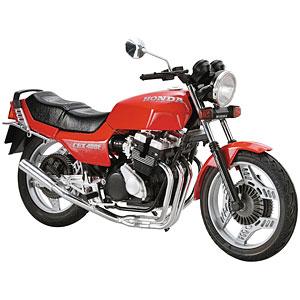 ザ・バイク No.48 1/12 ホンダ NC07 CBX400F モンツァレッド '81 カスタムパーツ付き プラモデル