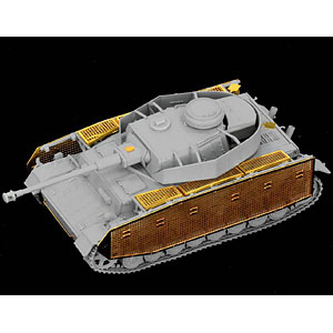 1/72 WW.II ドイツ軍 IV号戦車 J型最終生産型 プラモデル