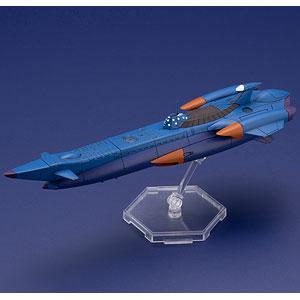 ふしぎの海のナディア 万能潜水艦 ノーチラス号 1/1000 プラモデル