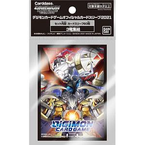 デジモンカードゲーム オフィシャルカードスリーブ2021 3竜集結 パック