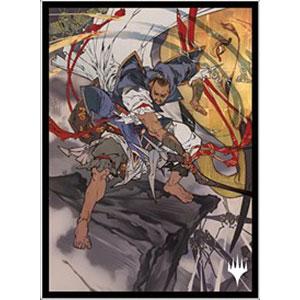 マジック:ザ・ギャザリング プレイヤーズカードスリーブ MTGS-157 日本画ミスティカルアーカイブ≪テフェリーの防御≫