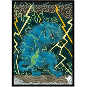 マジック:ザ・ギャザリング プレイヤーズカードスリーブ MTGS-158 日本画ミスティカルアーカイブ≪渦まく知識≫ パック