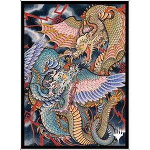 マジック:ザ・ギャザリング プレイヤーズカードスリーブ MTGS-160 日本画ミスティカルアーカイブ≪命運の核心≫ パック