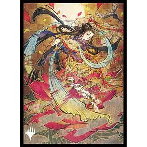 マジック:ザ・ギャザリング スリーブ 『ストリクスヘイヴン:魔法学院』 日本画ミスティカルアーカイブ ≪記憶の欠落≫