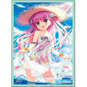 きゃらスリーブコレクション マットシリーズ Summer Pockets REFLECTION BLUE 「加藤うみ」(No.MT1098) パック