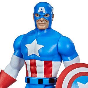 『マーベル・コミック』「マーベル・レジェンド RETRO」3.75インチ・アクションフィギュア #01 キャプテン・アメリカ