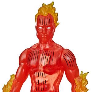 『マーベル・コミック』「マーベル・レジェンド RETRO」3.75インチ・アクションフィギュア #06 ヒューマン・トーチ
