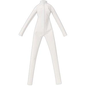 1/3スケール用 AZO2キャットスーツ マットホワイト (ドール用)