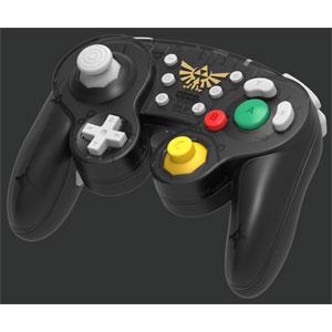 ホリ ワイヤレスクラシックコントローラ for Nintendo Switch ゼルダ