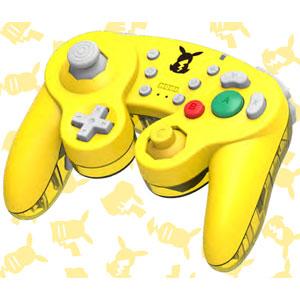 ホリ ワイヤレスクラシックコントローラ for Nintendo Switch ピカチュウ