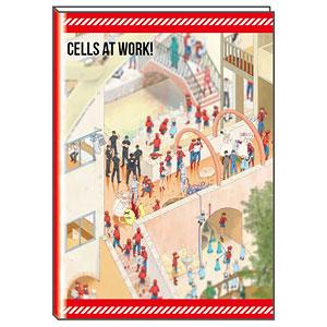はたらく細胞 B6マンスリースケジュール手帳 2022 C