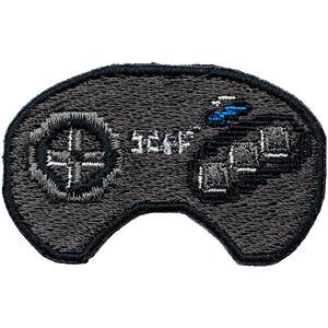 セガハードウェア 2way刺繍ワッペン〈メガドライブ コントローラー〉