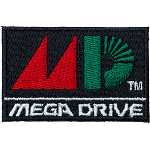 セガハードウェア 2way刺繍ワッペン〈メガドライブ ロゴ 〉